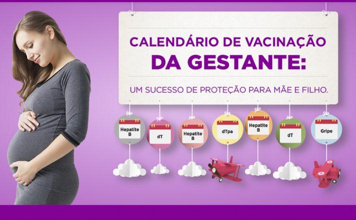 Prefeitura reforça a importância da vacinação de gestantes