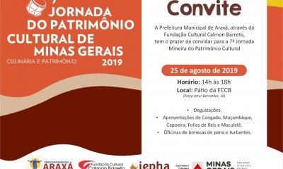 Prefeitura realiza 7ª Jornada Mineira do Patrimônio Cultural