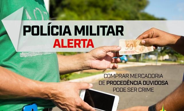 Polícia Militar prende autor por receptação em Araxá