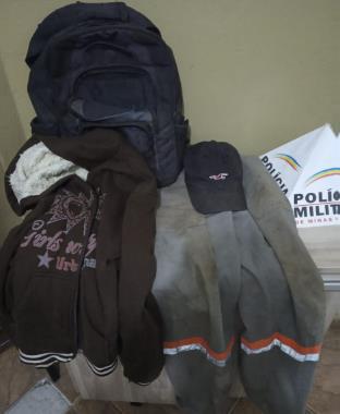 Em rápida ação, Polícia Militar prende autor de roubo e recupera pertences da vítima em Araxá/MG
