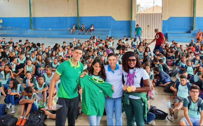 Oficina leva esporte adaptado para o ambiente escolar em Brumadinho