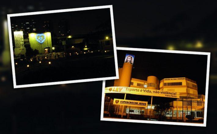 Pela Vida, contra o suicídio: monumentos têm iluminação especial na campanha Setembro Amarelo