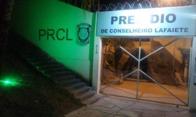 Presos reformam unidade prisional de Conselheiro Lafaiete