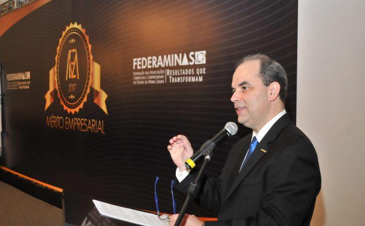 Foi iniciado nesta quinta-feira (24) o XXII Congresso das Associações Comercias e Empresarias de Minas Gerais