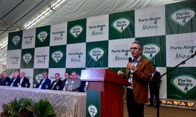 Governador Romeu Zema inaugura nova planta do Laticínios Porto Alegre, em Antônio Carlos