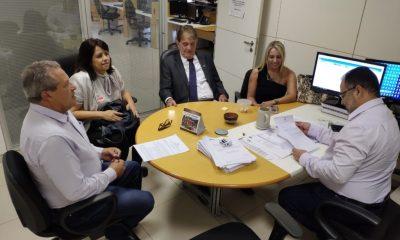 Prefeito participou de reuniões em Brasília para tratar do convênio de R$ 45 milhões