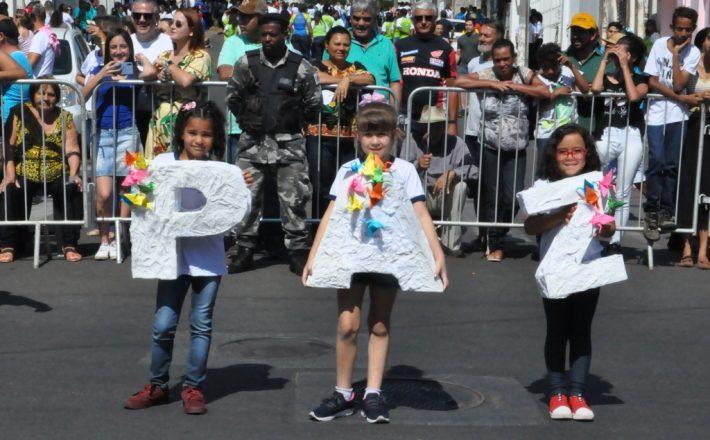 Comemoração do Dia 7 de setembro reuniu milhares de pessoas em Araxá