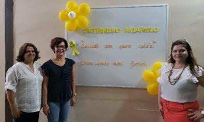 Cuidado Com Quem Cuida – Juntos Somos Mais Fortes: Prefeitura realiza atividades do Setembro Amarelo em Araxá