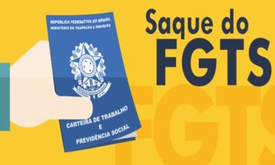 Saque de R$ 500 do FGTS começa na sexta