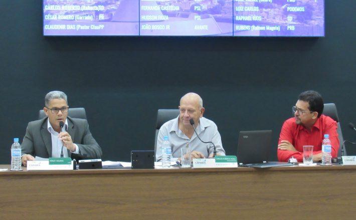 Seis Vereadores fizeram uso da tribuna em Reunião Ordinária realizada nessa terça-feira (03/09)