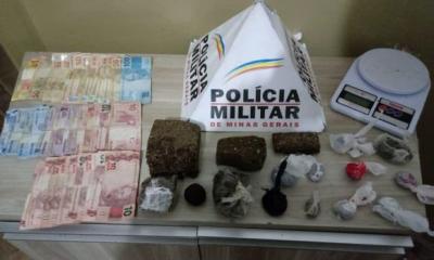 Polícia Militar prende autora por tráfico de drogas em Araxá. Veja essa e outras ocorrências do final de semana em Araxá e Região