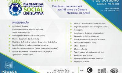 Dia Municipal da Responsabilidade Social Legislativa (19/10)