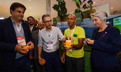 Romeu Zema participa da abertura 33ª Superminas e destaca papel do setor produtivo