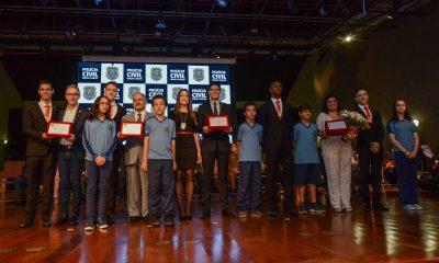 Romeu Zema participa de solenidade de formatura de 79 delegados de Polícia Civil
