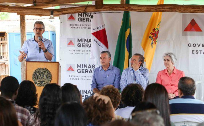 Romeu Zema entrega novas obras do Programa de Revitalização da Bacia do São Francisco, em Paracatu