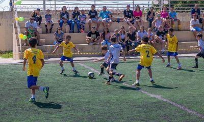 Prefeitura promove Manhã Esportiva para as crianças no Centro Esportivo e Educacional Pedro Bispo (antigo CSU)