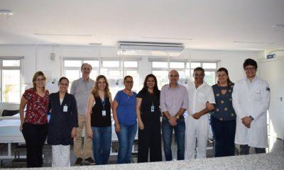 Prefeitura recebe visita técnica para implantação do Centro de Coleta de Sangue