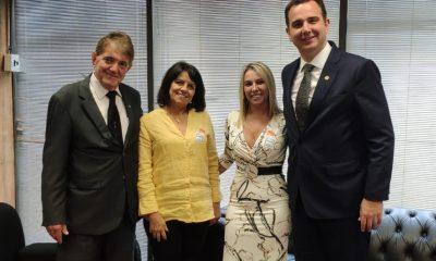Prefeito Aracely e técnicos participam da última etapa pela liberação dos R$ 45 milhões