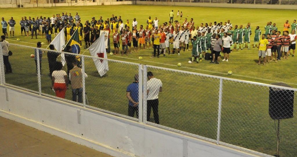 Prefeitura inicia disputa da 1ª Copa Municipal de Futebol Master Araxá