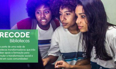 Araxá é selecionada para participar do Programa Recode Bibliotecas