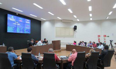Reunião Ordinária realizada na última terça-feira (08/10)