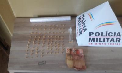 Polícia Militar prende autor por tráfico de drogas em Araxá