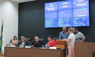 Reunião Ordinária realizada na última terça-feira (01/10)