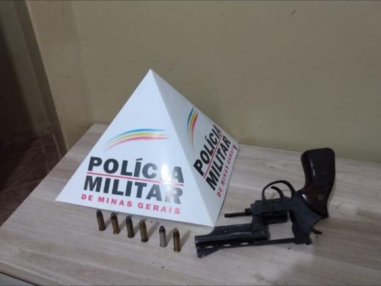 PM prende autor por porte ilegal de arma de fogo em Araxá. Leia essa e outras ocorrências do final de semana em Araxá e Região