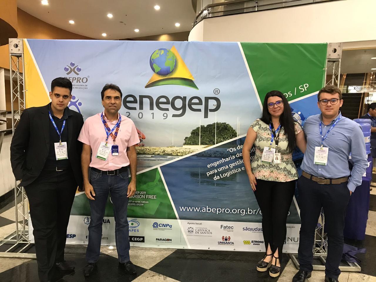 Professor e Alunos Participam de 39º Encontro Nacional de Engenharia de Produção – ENEGEP