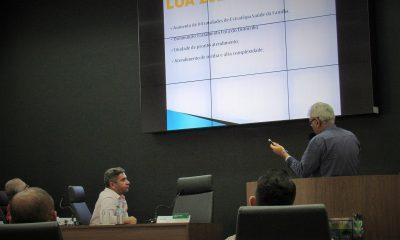 Audiência debate orçamento do município para 2020