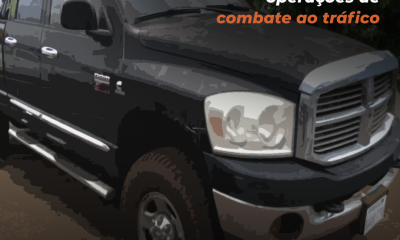 Leilão de veículos apreendidos em operações de combate ao tráfico será na próxima segunda