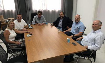 Diretores da McCain na América Latina visitam prefeito Aracely