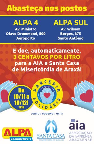AIA e Postos Alpa lançam Parceria Solidária em prol da Quimioterapia da Santa Casa