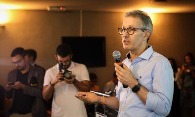 Governador apresenta os avanços e os desafios do Executivo a empresários