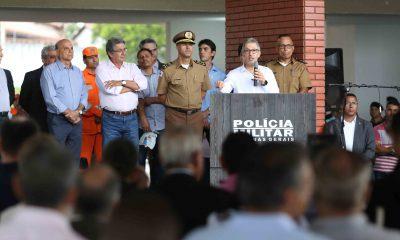 Governador inaugura batalhão da Polícia Militar para fortalecer combate à criminalidade no Triângulo