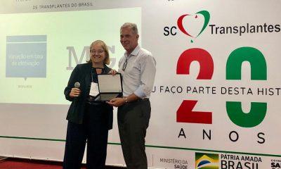 Minas recebe prêmio por maior captação de órgãos do país