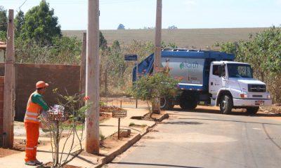 Prefeitura divulga alteração no horário da coleta de lixo em Araxá