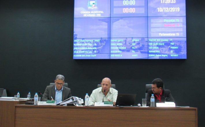 Cinco Projetos foram aprovados em Reunião Ordinária realizada ontem, terça-feira (10/12)