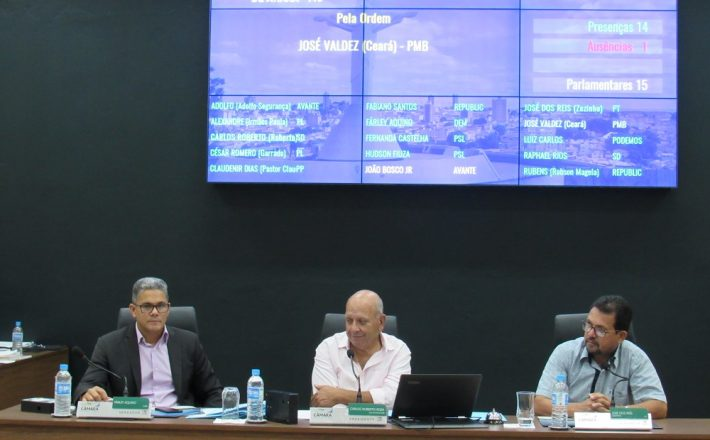 Cinco Projetos de Lei foram aprovados em Reunião Ordinária realizada nesta terça-feira (03/12)