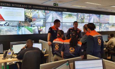 Defesa Civil de São Paulo chega a Minas para prestar auxílio às vítimas das chuvas