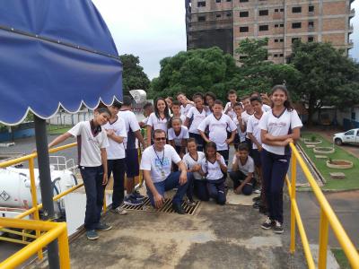Estudantes do Triângulo Mineiro e Alto Paranaíba conhecem os processos de tratamento de água