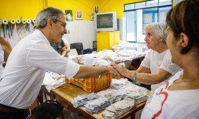 Romeu Zema participa de abertura da Feira de Móveis de Minas Gerais em Ubá, na Zona da Mata
