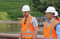 Estado supervisiona obras de reparação ambiental em Brumadinho