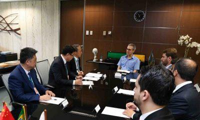 Grupo chinês anuncia investimentos em Minas Gerais