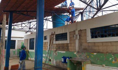 Obras de reforma e construção das escolas municipais de Araxá estão adiantadas