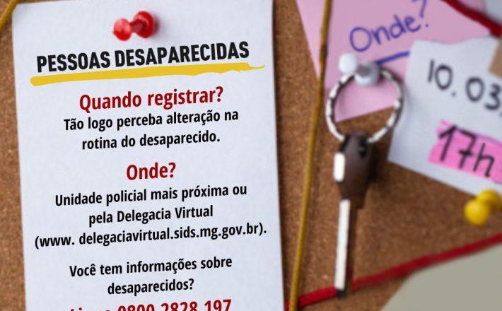 Setor da Polícia Civil que investiga pessoas desaparecidas é referência
