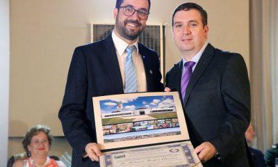 Presidente do conselho diretor da FCA e pró-reitor de ensino, pesquisa e extensão do Uniaraxá, recebeu o título de cidadão honorário araxaense