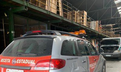 Receita Estadual e Polícia Civil combatem sonegação de impostos no setor de material de construção