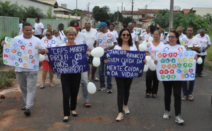 Campanha Janeiro Branco é encerrada com aniversário do CAPS Maria Pirola
