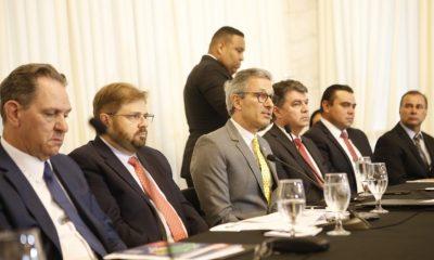 Romeu Zema destaca importância de união entre os poderes para instalar TRF-6 em Minas